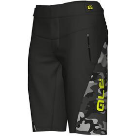 Alé Cycling Camo Enduro Racing Shorts Men black fluo yellow